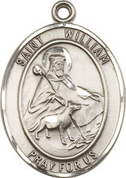 Religious Medals: St. William of Rochester SS Md