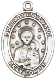Religious Medals: Our Lady of La Vang SS Medal