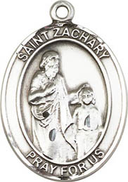 Religious Medals: St. Zachary SS Saint Medal