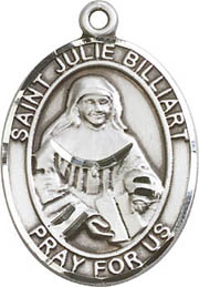 Religious Medals: St. Julia Billiart SS Medal