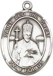 St. Leo the Great SS Medal