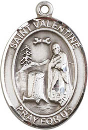 Religious Medals: St. Valentine SS Saint Medal