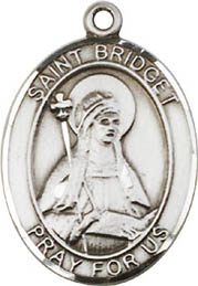 Religious Medals: St. Bridget of Sweden SS Medal