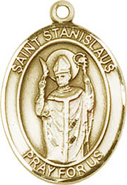Religious Medals: St. Stanislaus GF Saint Medal