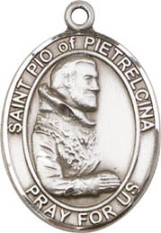 Religious Medals: St. Pio of Pietrelcina SS Mdl