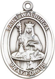 Religious Medals: St. Walburga SS Saint Medal