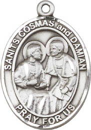 St. Cosmos and Damian SS Medal