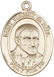 St. Vincent de Paul GF Medal