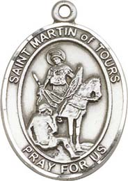 Religious Medals: St. Martin of Tours SS Medal