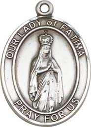 Religious Medals: Our Lady of Fatima SS Medal