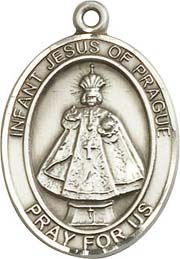 Religious Medals: Infant of Prague SS Medal
