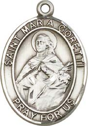 Religious Medals: St. Maria Goretti SS Medal