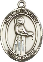 Religious Medals: St. Petronille SS Saint Medal