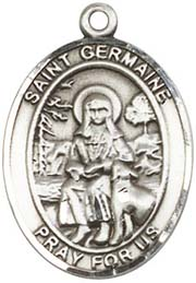 Religious Medals: St. Germaine Cousins SS Medal