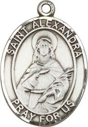 Religious Medals: St. Alexandra SS Saint Medal