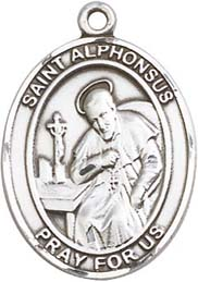 Religious Medals: St. Alphonsus SS Saint Medal