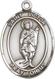 Religious Medals: St. Victor of Marseilles SS Md