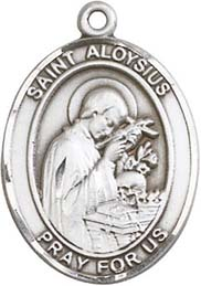 Religious Medals: St. Aloysius SS Saint Medal