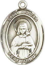 Religious Medals: St. Lillian SS Saint Medal