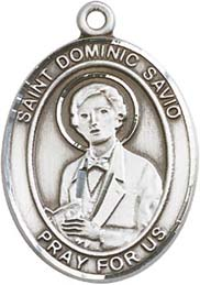 Religious Medals: St. Dominic Savio SS Medal