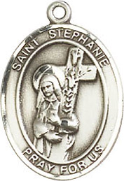 Religious Medals: St. Stephanie SS Saint Medal