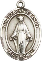 Religious Medals: Our Lady of Hope (and Lebanon)