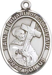 Religious Medals: St. Bernard of Clairvaux SS Md