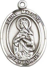 Religious Medals: St. Matilda SS Saint Medal