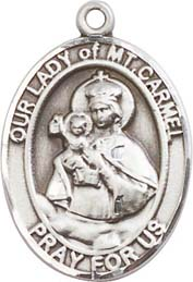 Religious Medals: Our Lady of Mt. Carmel SS Mdl