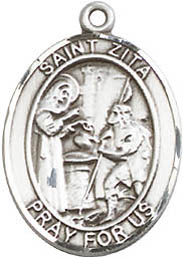 Religious Medals: St. Zita SS Saint Medal