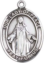 Religious Medals: Our Lady of Peace SS Medal