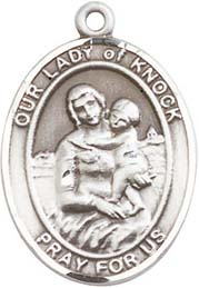 Our Lady of Knock SS Medal