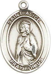 Religious Medals: St. Alice SS Saint Medal