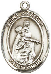 Religious Medals: St. Isabella of Portugal SS Md