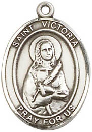 Religious Medals: St. Victoria SS Saint Medal