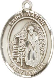 Religious Medals: St. Aaron SS Saint Medal