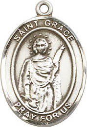 Religious Medals: St. Grace SS Saint Medal