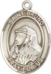 Religious Medals: St. Bruno SS Saint Medal