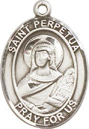 Religious Medals: St. Perpetua SS Saint Medal