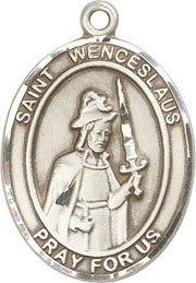 Religious Medals: St. Wenceslaus SS Saint Medal