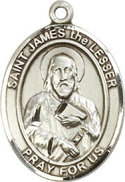 Religious Medals: St. James the Lesser SS Medal