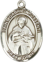 Religious Medals: St. Gabrial Possenti SS Medal