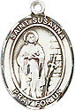 Religious Medals: St. Susanna SS Saint Medal