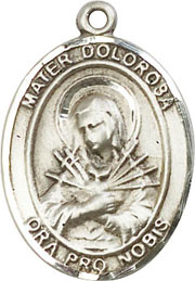 Religious Medals: Our Lady of Sorrows SS Medal