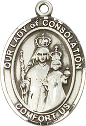 Religious Medals: Our Lady of Consolation SS Mdl