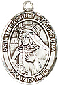 Religious Medals: St. Margaret of Cortona SS Mdl