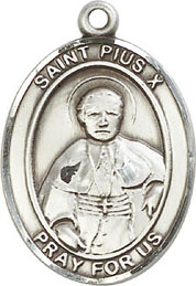 Religious Medals: St. Pius X SS Saint Medal