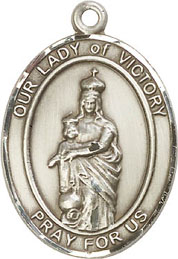 Religious Medals: Our Lady of Victory SS Medal