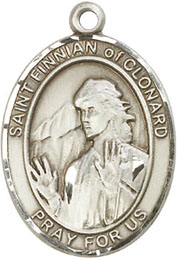 Religious Medals: St. Finian of Clonard SS Medal