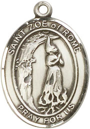 Religious Medals: St. Zoe of Rome SS Saint Medal